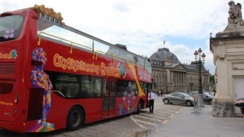 Hop-on-Hop-off-Bustour durch Brüssel