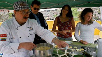 Small-Group Quito Culinary Experience