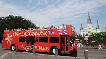 New Orleans Hop-On Hop-Off Bus Tour