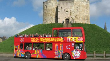 York Hop-On Hop-Off Bus Tour