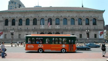 Hop-On Hop-Off Trolley Tour