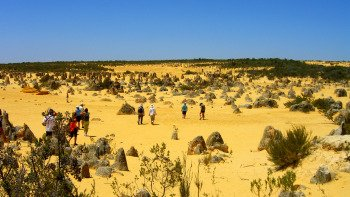 Pinnacles Desert Day Tour with 4-Wheel-Drive Adventure from Perth