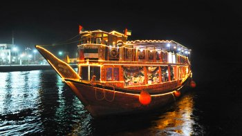 Dhow Dinner Cruise with Sharing Transfers