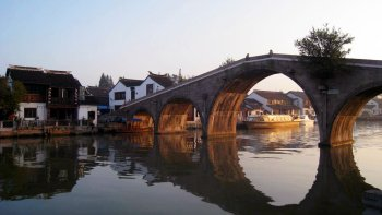 Zhujiajiao Water Village Half-Day Excursion