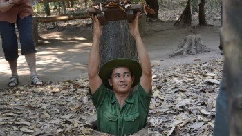 Cu Chi Tunnels Excursion