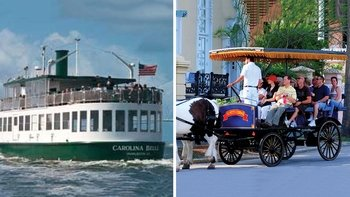 Charleston Tour with Cruise & Carriage Ride