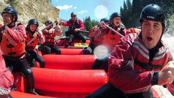 Kicking Horse River Whitewater Rafting Trip