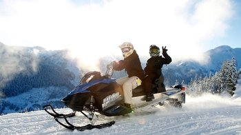 Wilderness Adventure Tour via Snowmobile