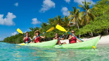 St. John Kayaking Hiking & Snorkeling Tour
