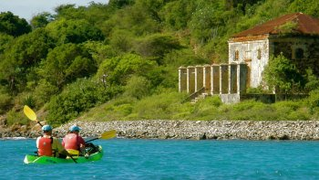 Historic Hassel Island Kayak, Hike & Snorkel Tour