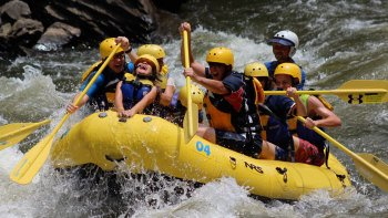 Upper Pigeon River White-water Rafting Trip