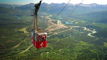 Jasper National Park Aerial Sightseeing SkyTram