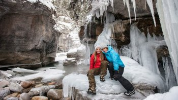 Maligne Canyon Icewalk