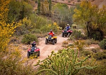 Bradshaw Mountains Quad bike or UTV Off-Roading Tours