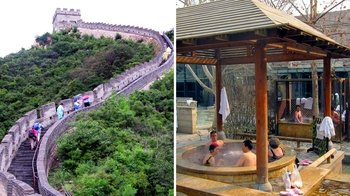Private Great Wall of China & Chunhuiyuan Spa Tour