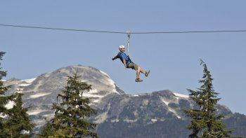Ziptrek Whistler Forest Zip line Adventure