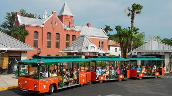 St Augustine Old Town Trolley Hop-on Hop-off City Tour