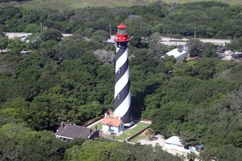 St Augustine Beach & Old Downtown Helicopter Tour