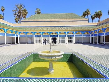 Tour door Marrakech langs paleizen en monumenten