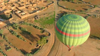 Sunrise Hot Air Balloon Flight