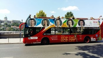 Hop-On Hop-Off Bus & Riverboat Pass with City Walking Tour