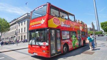 ,Tour por Dublin,Tour en autobús,Bus turístico