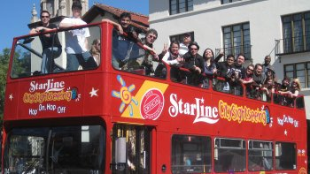 Hop-on-Hop-off-Sightseeing-Tour durch Los Angeles