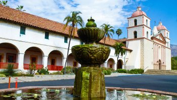 Santa Barbara, Solvang & Hearst Castle Day