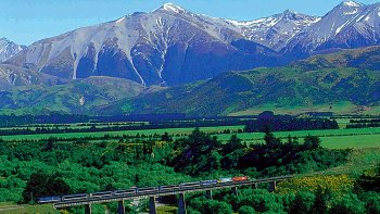 Arthur's Pass Full-Day Tour with Jet Boat & Farm Visit via TranzAlpine