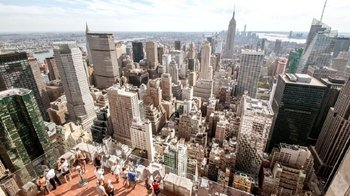 "Aussichtsplattform ""Top of the Rock"" – Zeitlich flexibles Ticket"