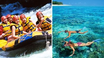 White Water Rafting & Reef Snorkelling Combo