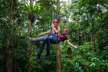 Jungle Surfing Canopy Experience