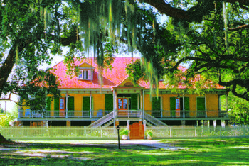 Guided Day Tour of Laura & Oak Alley Plantation