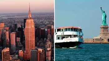 Empire State Building & Circle Line Liberty Cruise