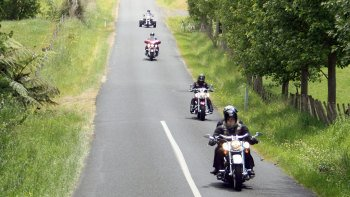 Harley Davidson Chauffeured Passenger Tour to Waitomo Caves