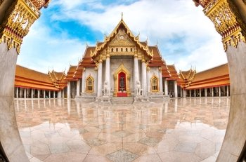 Golden Buddha, Reclining Buddha & Marble Temple Tour