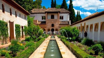 Full-Day Excursion to Granada: Alhambra Gardens or Palace