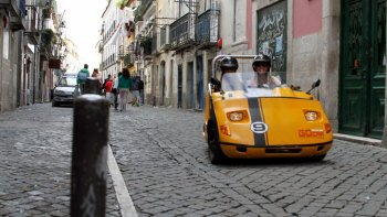 GoCar Talking Car: Historic City Tour