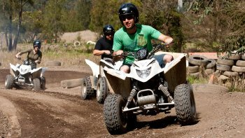 Quad Biking (ATV) Experience at Glenworth Valley