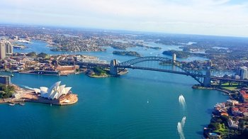 Sydney Harbour, Bondi, & Manly Beach Private Helicopter Flight for 3