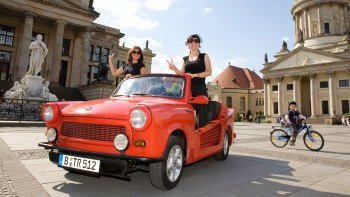 Trabi-Tour durch Berlin
