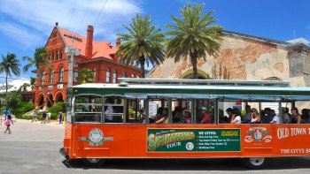 Historic Key West Old Town Trolley Hop-On Hop-Off Tour