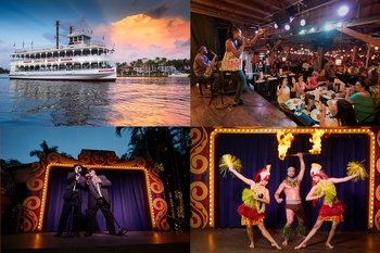 Riverboat Cruise with Dinner & Show
