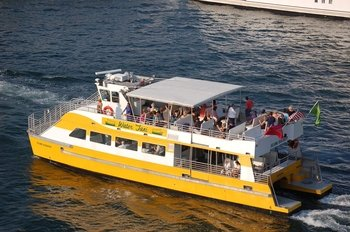 Water Taxi Tour-Hop-On Hop-Off All Day and Evening