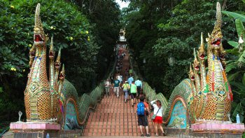 Wat Doi Suthep & Hmong Hill-Tribe Village