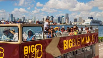 Miami Hop-On Hop-Off Bus Tour
