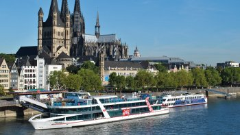 Cologne Panoramic Sightseeing Cruise on the Rhine River