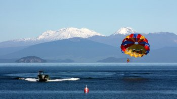 Parasail Adventure on Lake Taupo