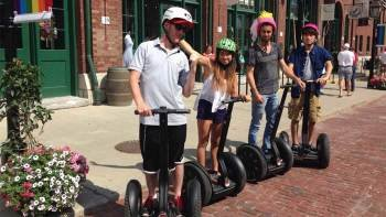 Segway Tour of Distillery District