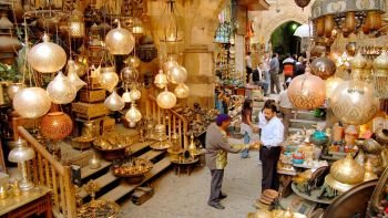 Private Tour of Khan el-Khalili Bazaar with Dinner